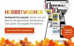 Herbstaktion Chronos