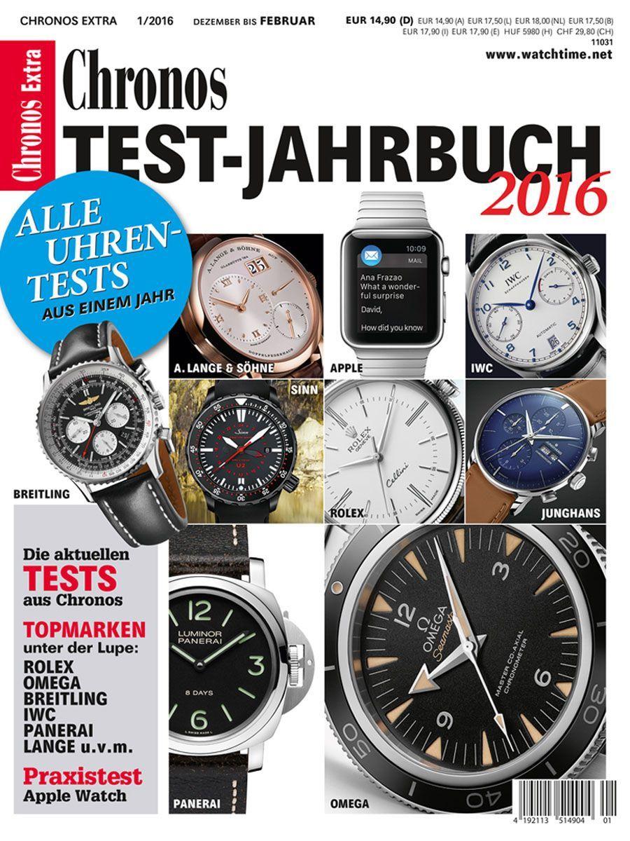 Chronos: Test-Jahrbuch 2016