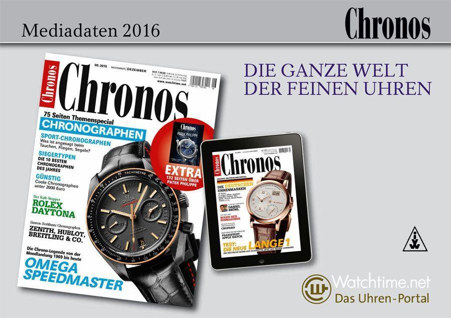 Chronos Mediadaten 2016