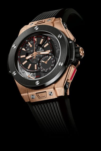 Hublot: Big Bang Alarm Repeater King Gold Ceramic