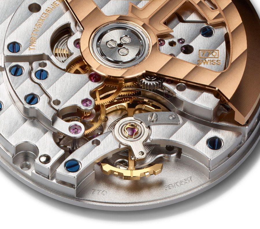 Jeager-LeCoultre: die Schwungmasse der Geophysic-Modelle besteht aus massivem Gold