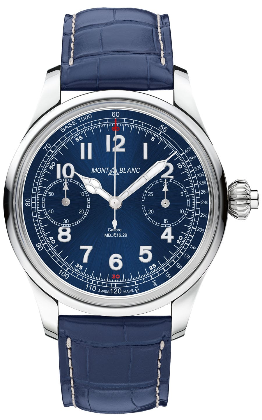 1858 Chronograph Tachymeter Blue Limited Edition 100