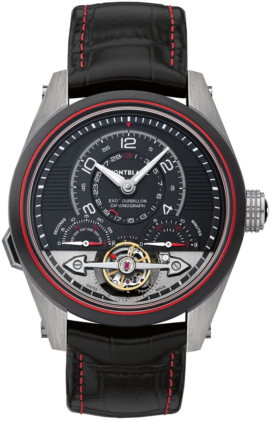 Montblanc TimeWalker ExoTourbillon Minute Chronograph LE 100 ID 112587
