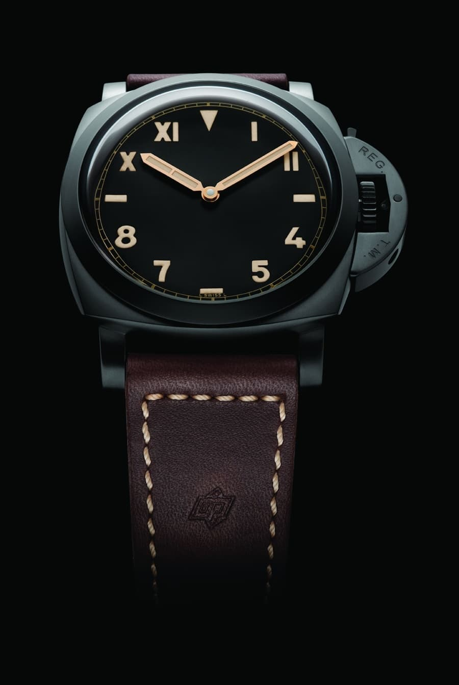 Panerai: Luminor 1950 3 Days Titanio DLC