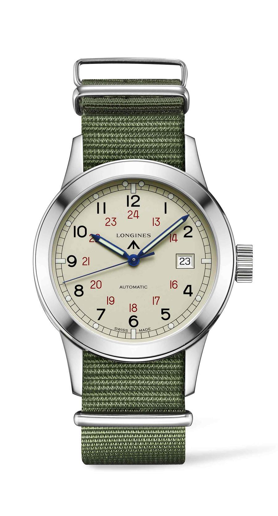 The Longines Heritage Military COSD hell