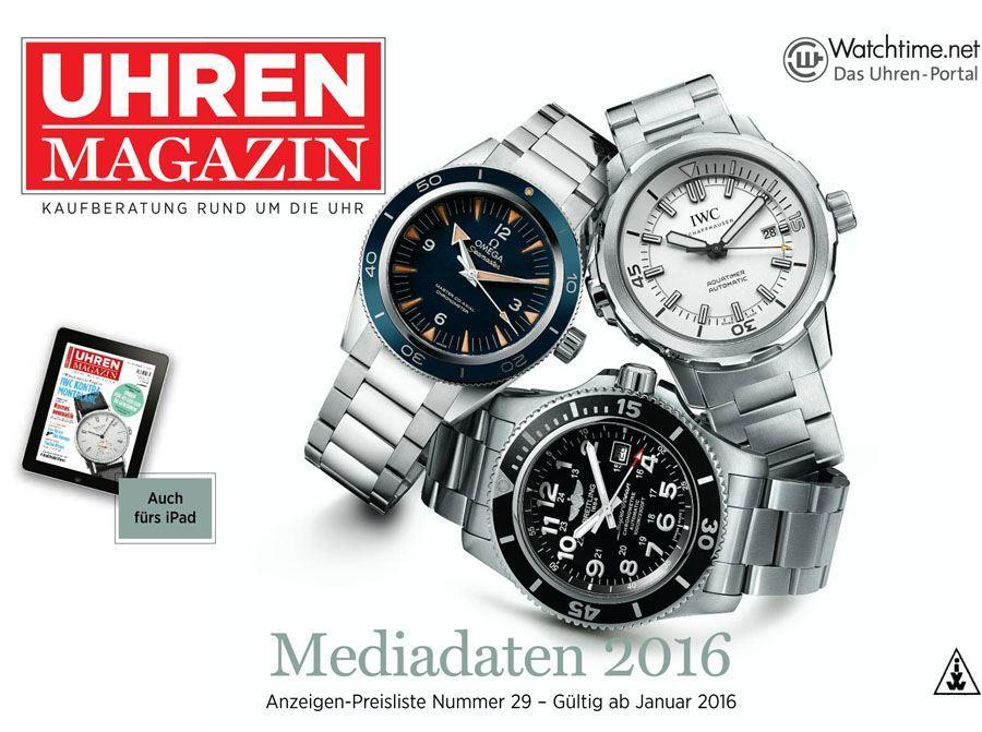 UHREN-MAGAZIN Mediadaten 2016