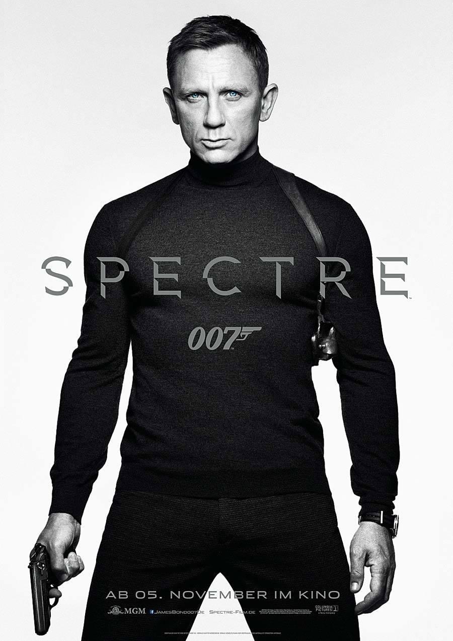 """Auftritt in """"James Bond 007 Spectre"""": Daniel Craig mit Omega Seamaster 300 """"Spectre"""" Limited Edition"""