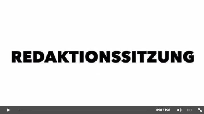 Video: Redaktionssitzung