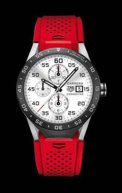 Eine der ersten Smartwatches eines Schweizer Luxusuhrenherstellers: Die TAG Heuer Connected