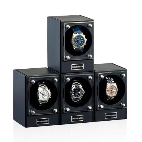 Designhütte: Uhrenbeweger Piccolo, vier Module kombiniert