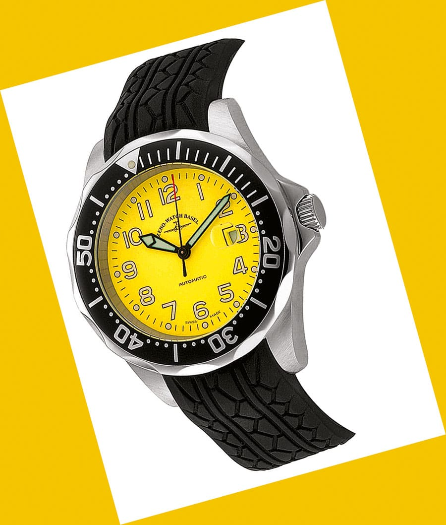 Zeno: Diver Look II Yellow