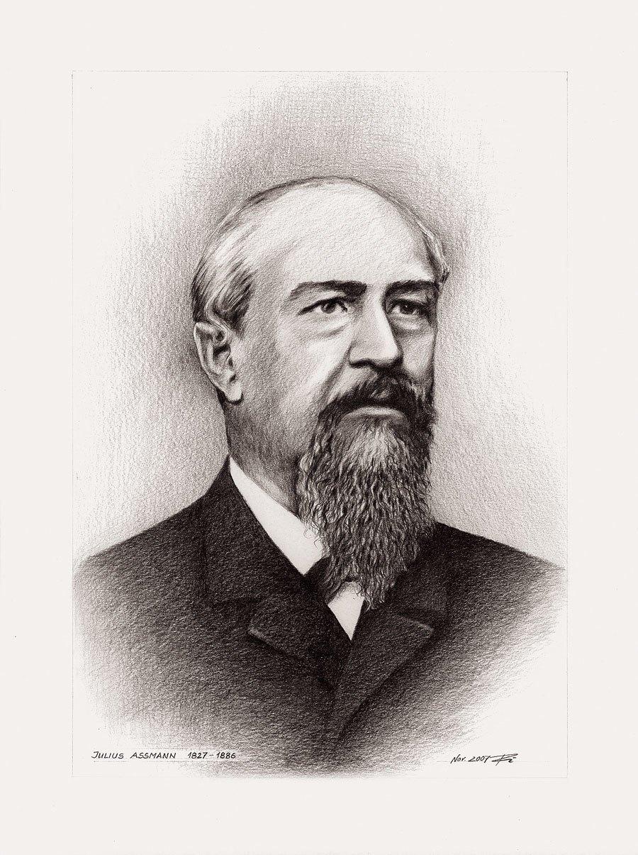 Julius Assmann: Gründer der J. Assmann Uhrenfabrik