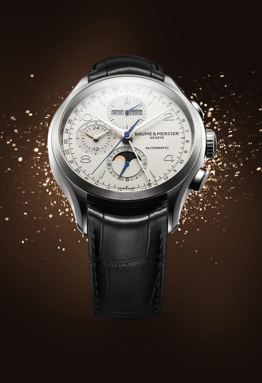 Baume & Mercier: Clifton Chronograph Vollkalender