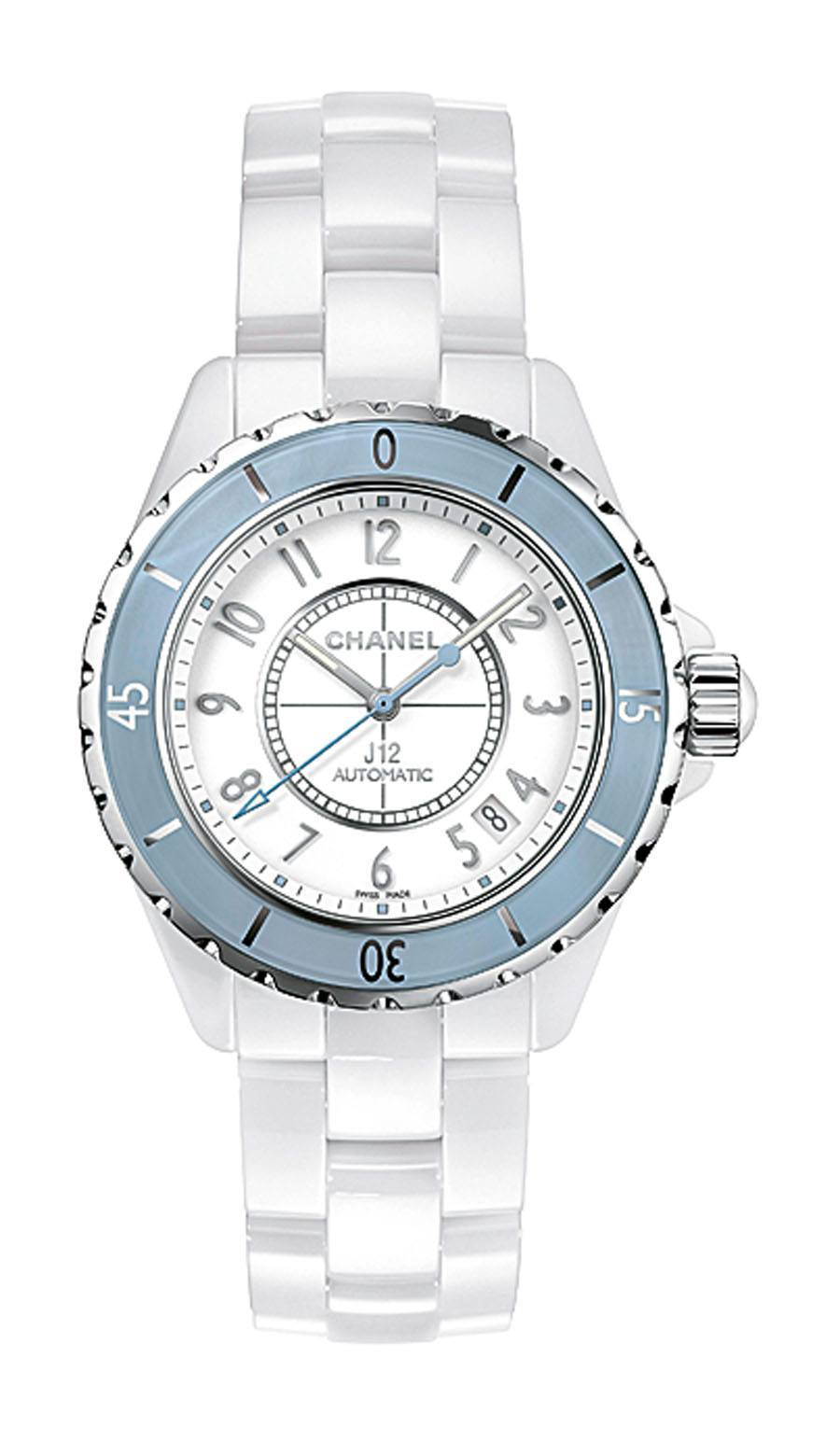 Chanel: J12 Soft Blue