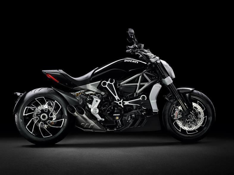 Die Ducati XDiavel war die Designvorlage für die neue Tudor Fastrider Black Shield