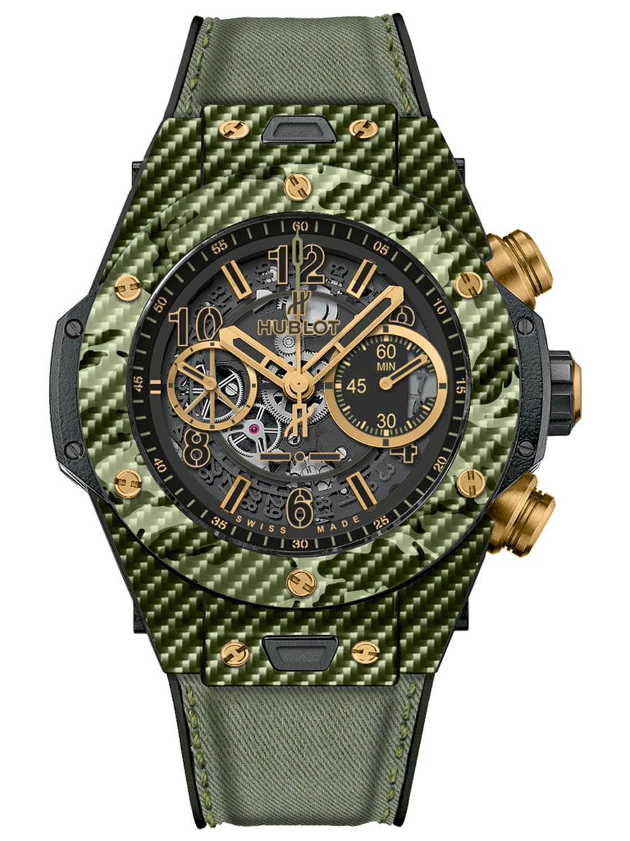 Hublot: Big Bang Italia Independent Green Camo