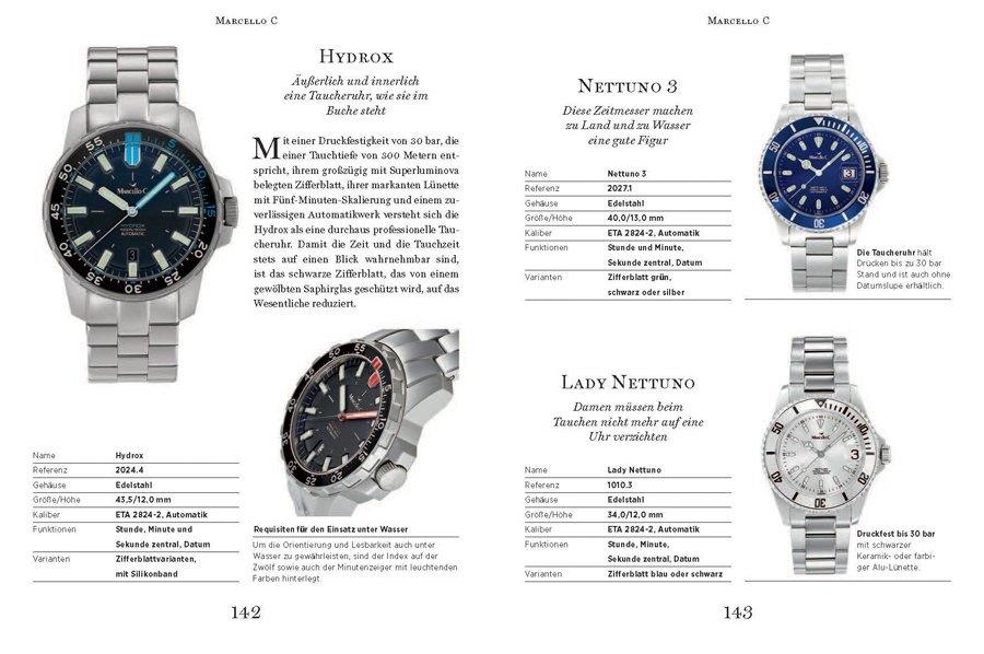 UHREN-MAGAZIN Spezial Deutsche Uhrenmarken – Das Kompendium 2016: Marcello C