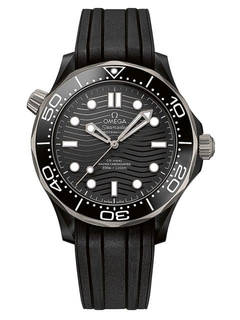 Omeaga Seamaster Diver 300m, Titan Keramik