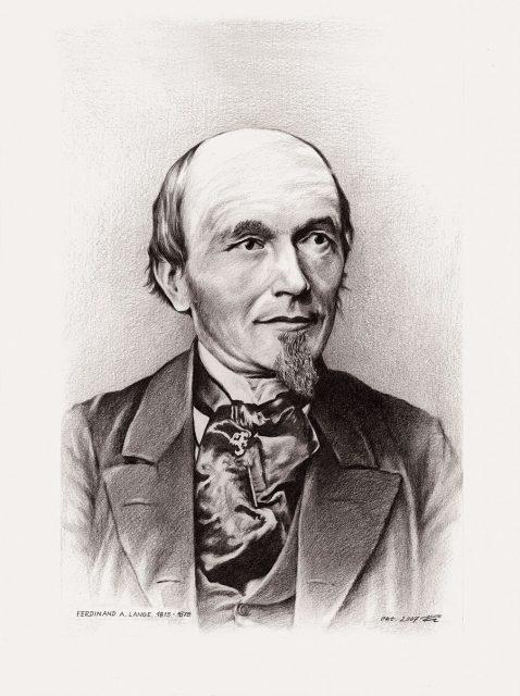 Ferdinand A. Lange Gründervater der Glashütter Uhrenindustrie