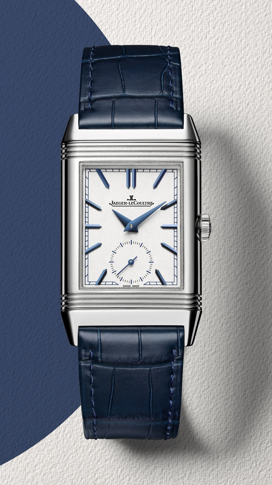 Jaeger-LeCoultre: Reverso Tribute Duoface - Vorderseite