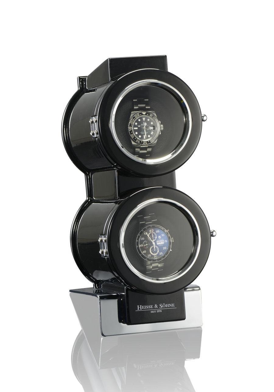 Uhrenbeweger Duo von Heisse & Söhne, die Uhren sind nicht Teil der Verlosung.