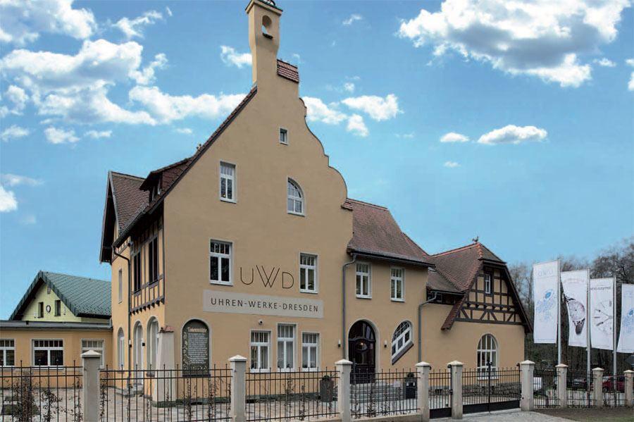 Uhren-Werke-Dresden: Firmengelände