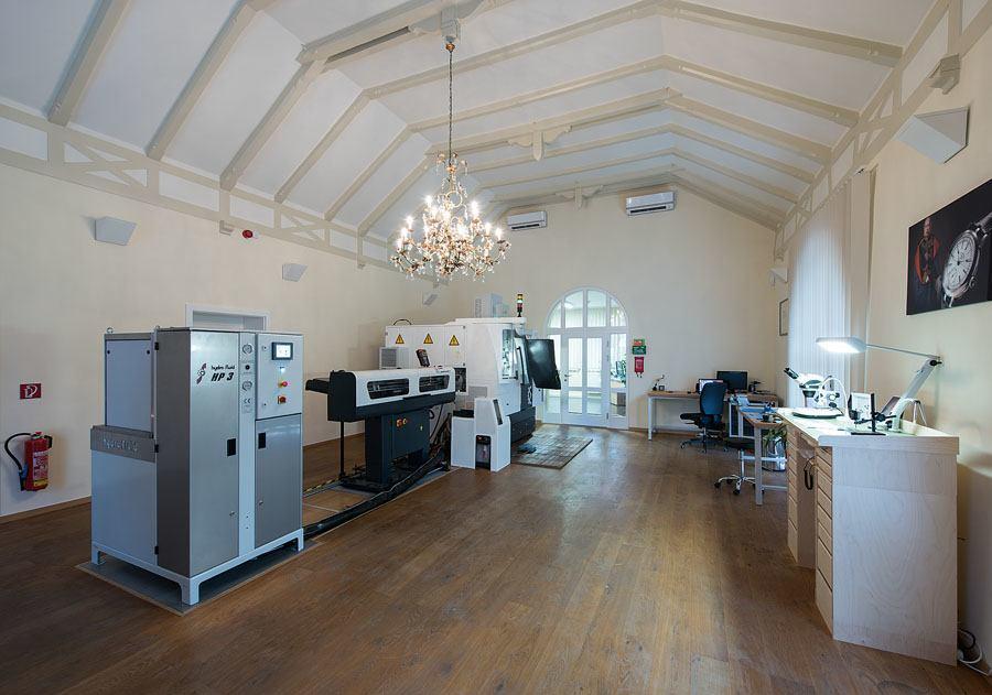 Uhren-Werke-Dresden: Firmengebäude von Innen