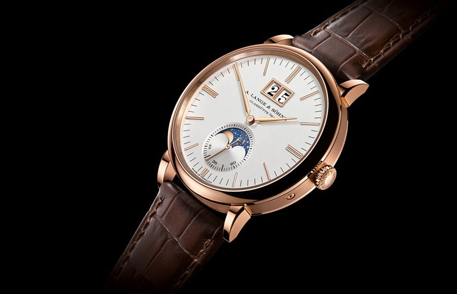 A. Lange & Söhne: Saxonia Mondphase in Rotgold