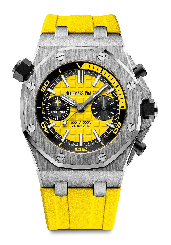 Audemars Piguet: Royal Oak Offshore Diver Chronograph in Gelb
