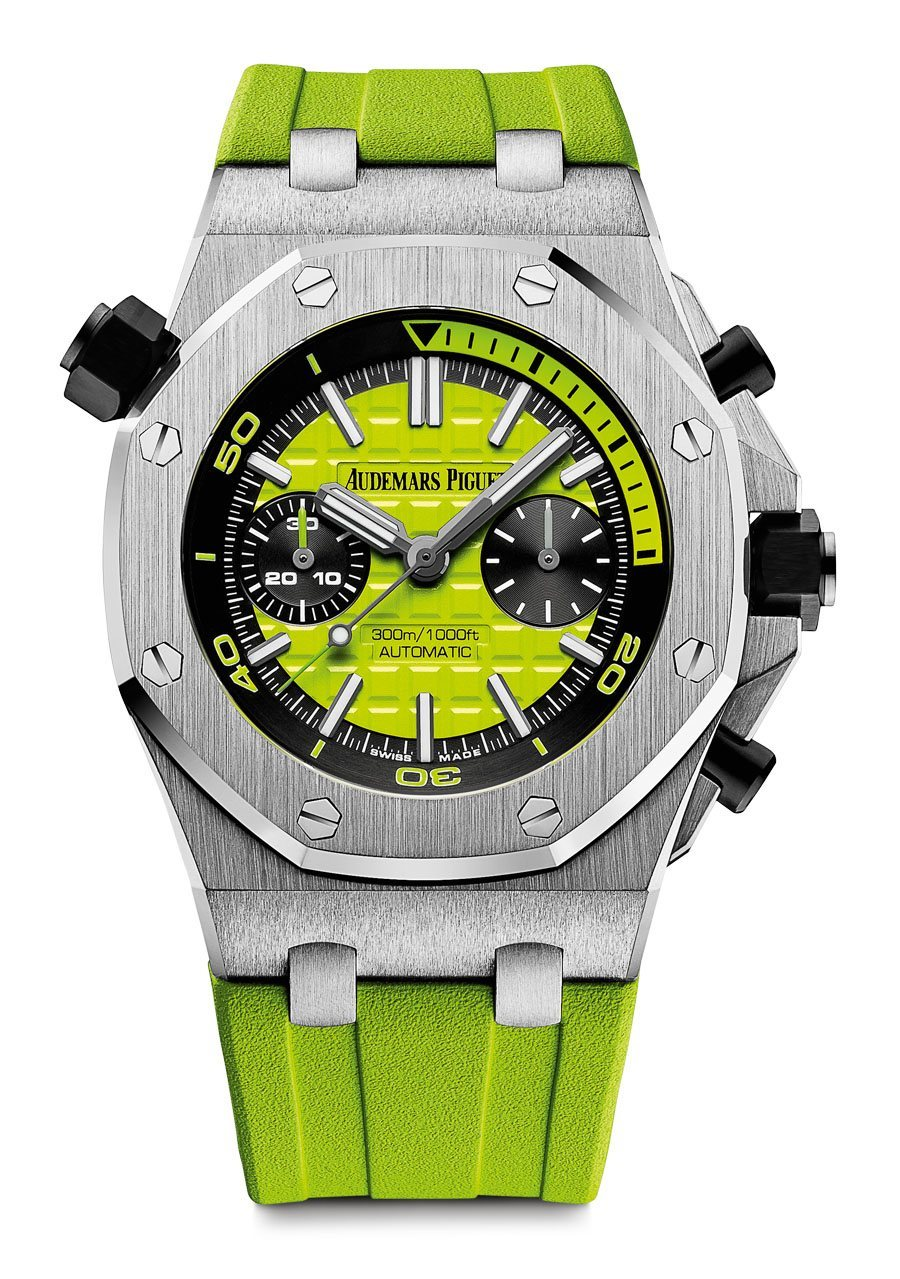 Audemars Piguet: Royal Oak Offshore Diver Chronograph in Grün
