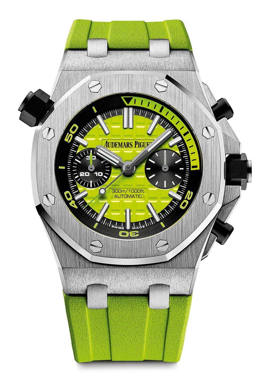 Audemars Piguet: Royal Oak Offshore Diver Chronograph in Grün