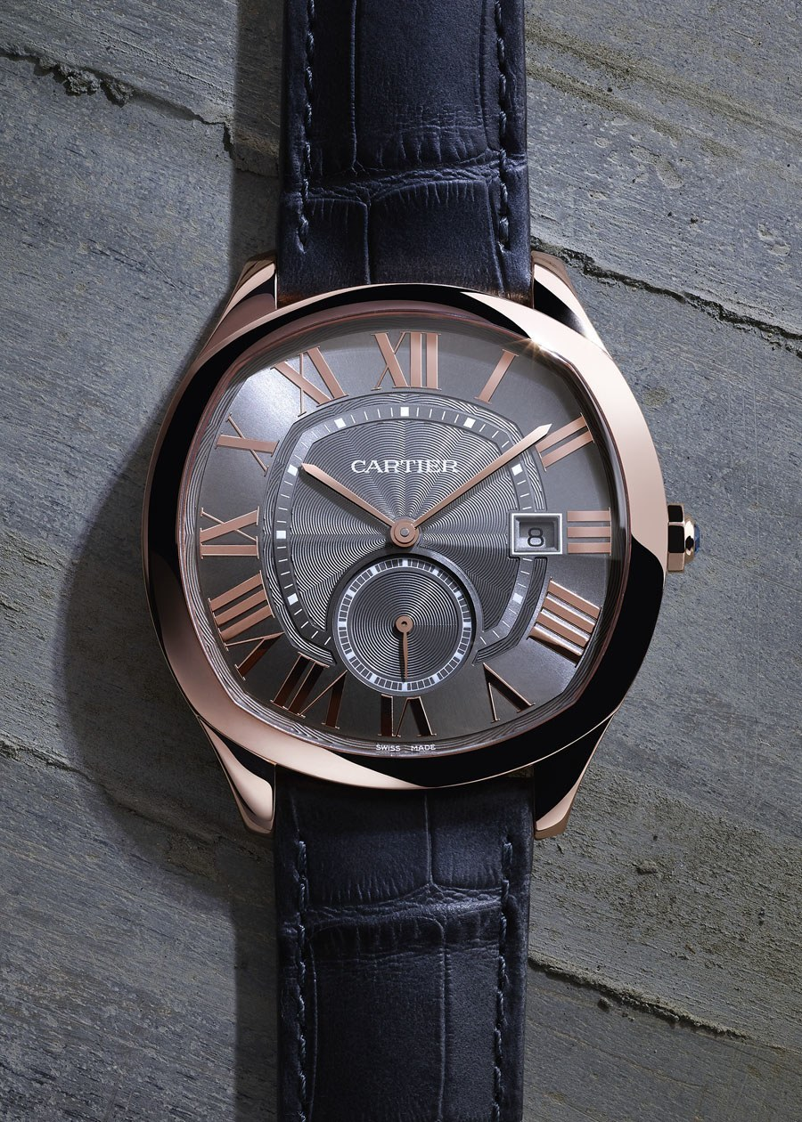 Cartier: Drive de Cartier in Rotgold