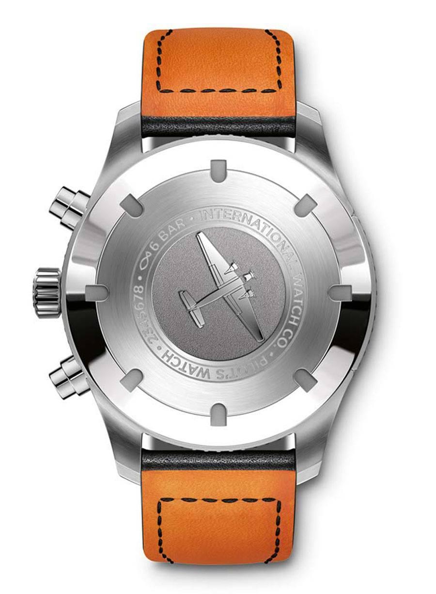 IWC: Pilot's Watch Timezoner Chronograph (Rückseite)