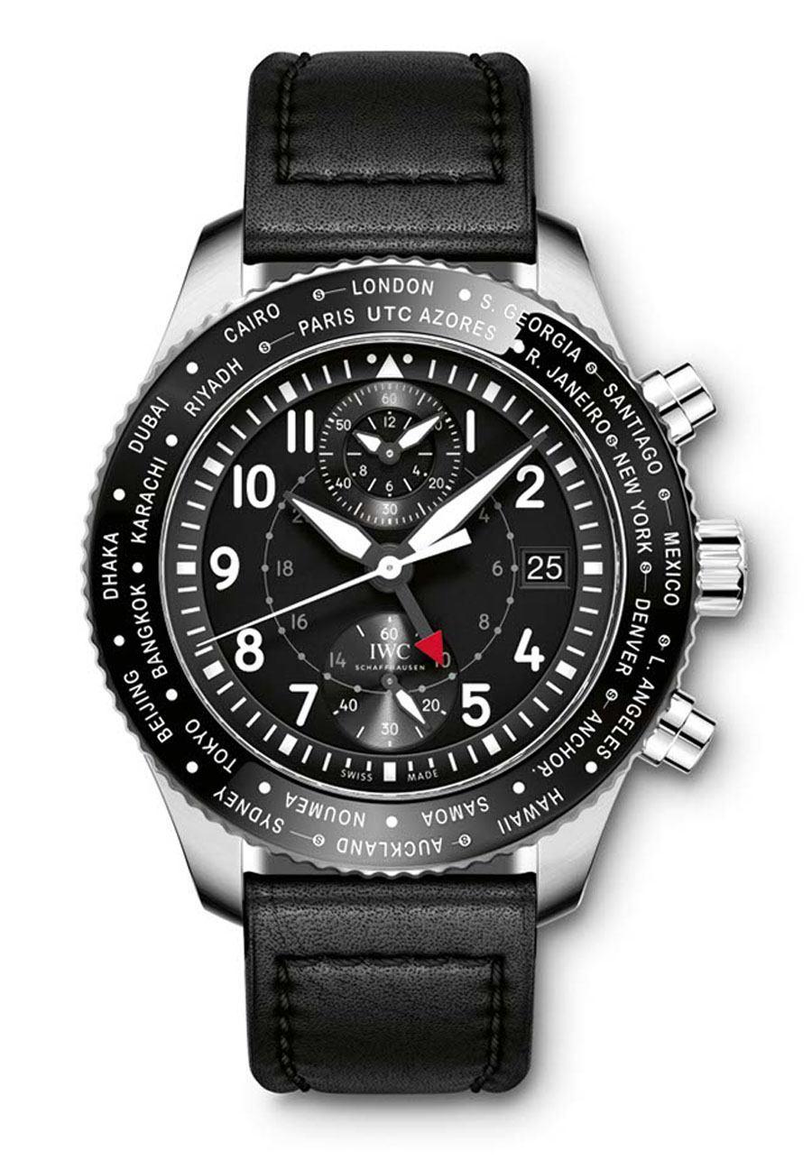 IWC: Pilot's Watch Timezoner Chronograph (Vorderseite)