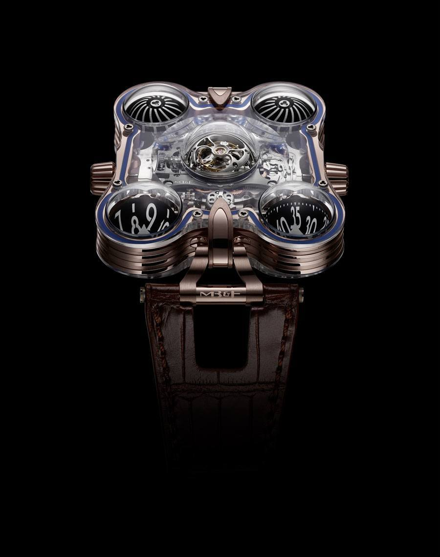 MB&F: Horological Machine N°6 SV in Rotgold