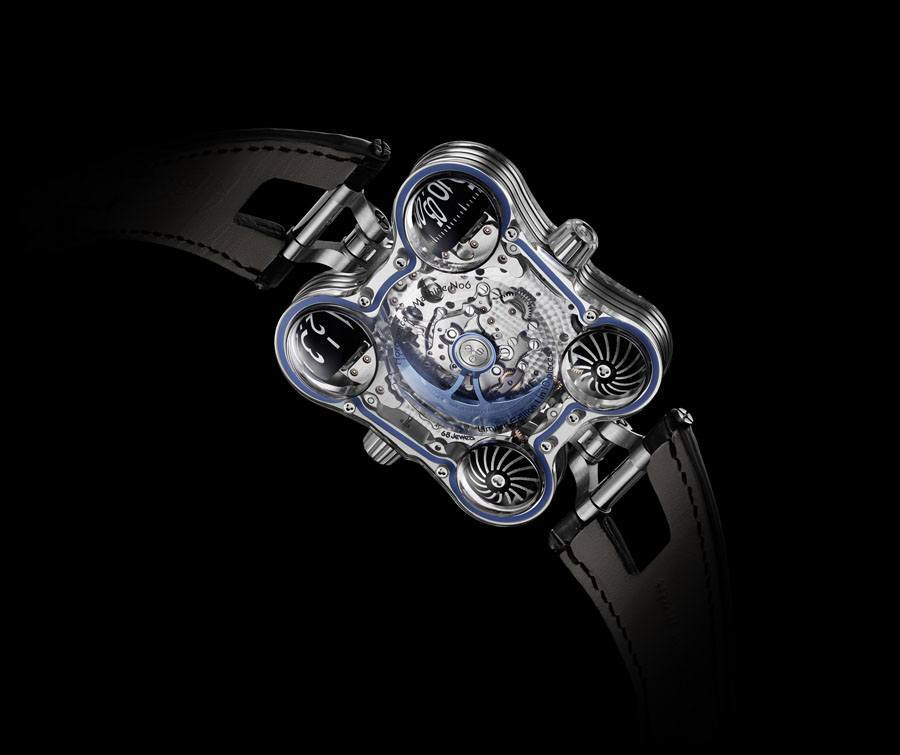 MB&F: Werkansicht Horological Machine N°6 SV