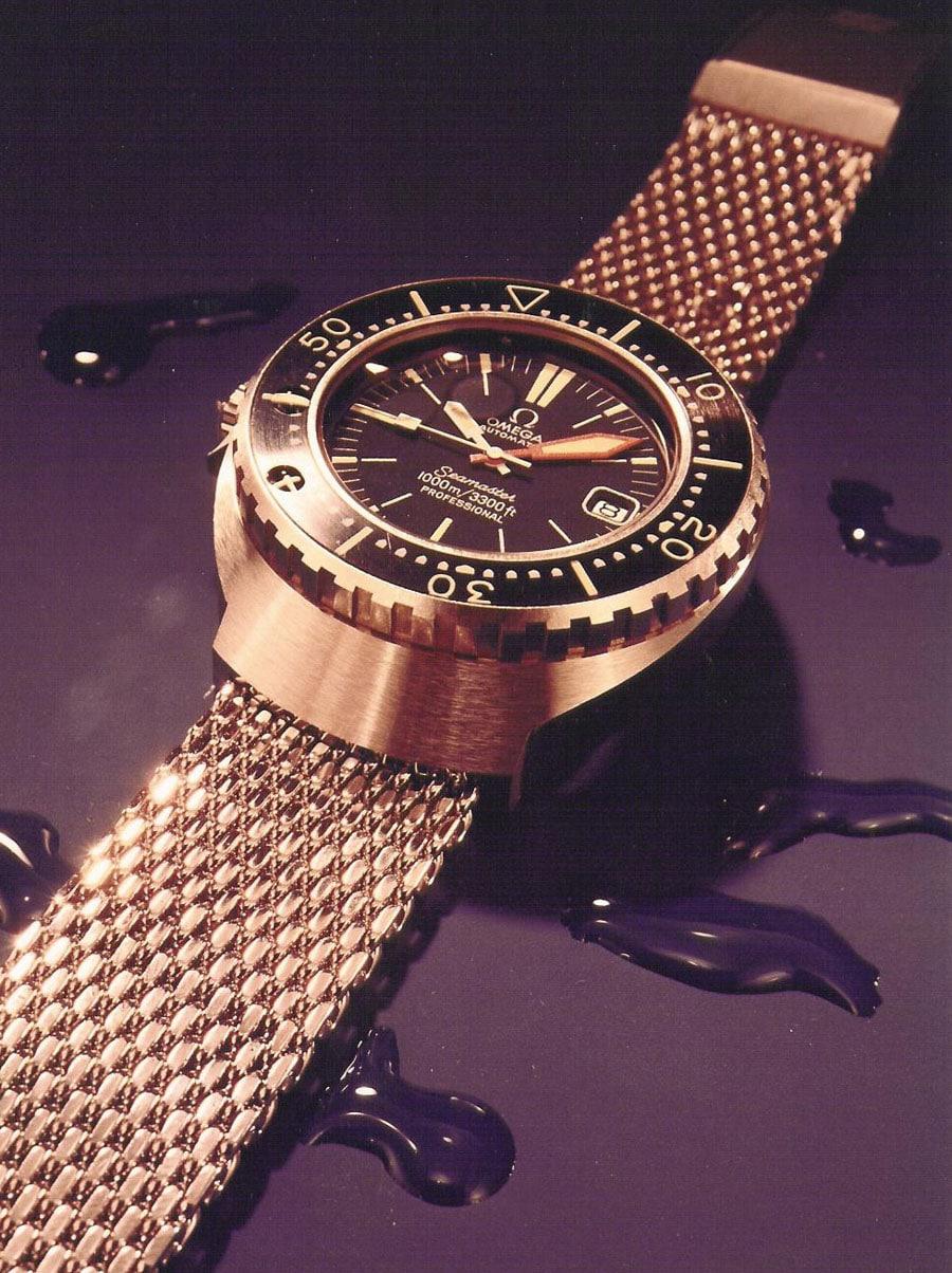 Omega Seamaster 1000: Sie war die erste tragbare Uhr, die bis 100 Bar druckfest blieb
