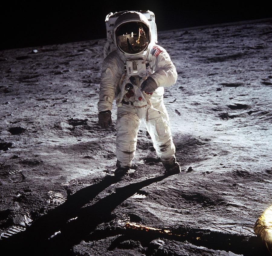 Die Omega Speedmaster als erste Uhr auf dem Mond mit Edwin Buzz Aldwin