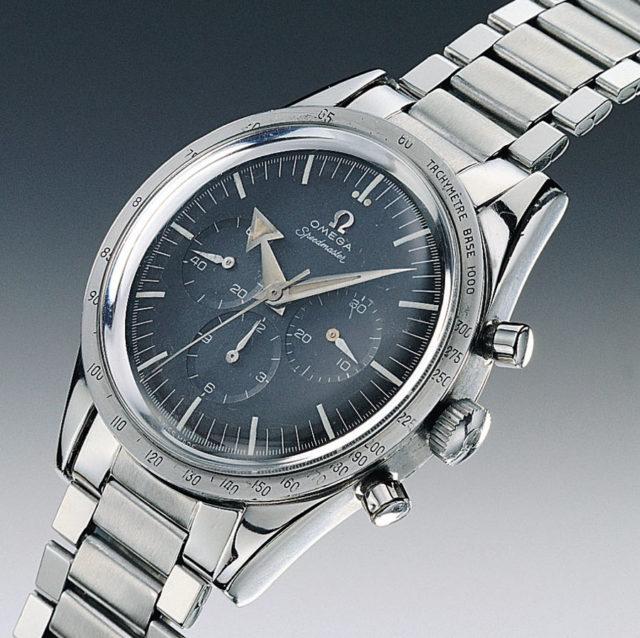 Omega-Moonwatch: Die Speedmaster kam 1957 auf den Markt und eroberte im Jahr 1969 den Mond