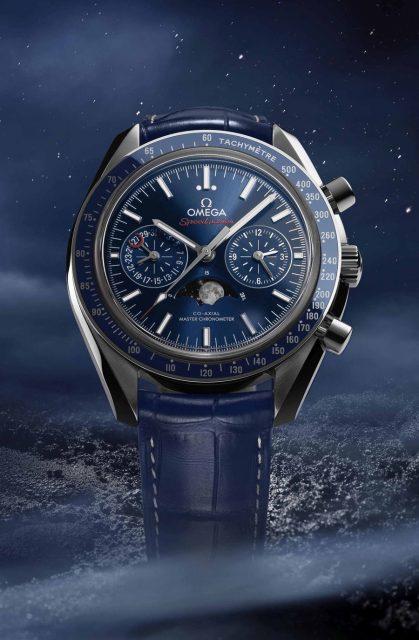 Omega: Speedmaster Moonphase Chronograph Master Chronometer