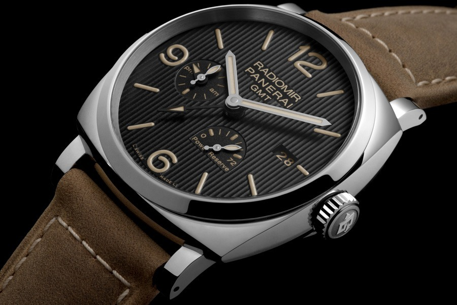 Panerai: Radiomir 1940 3 Days GMT Power Reserve Automatic ...