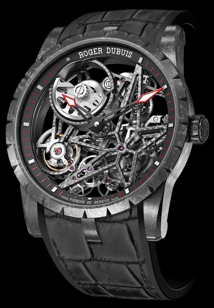 Roger Dubuis: Excalibur Automatic Skeleton Carbon