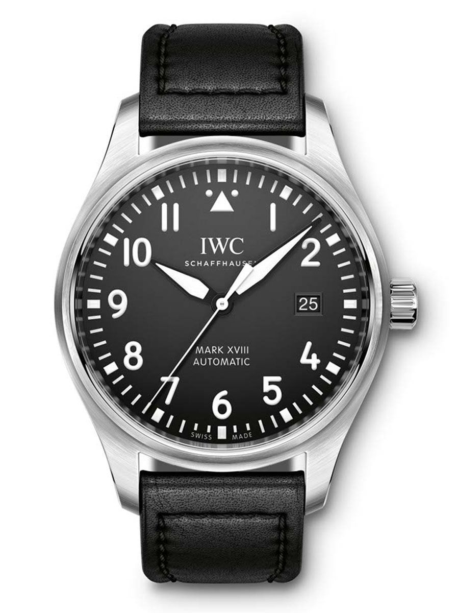 IWC: Fliegeruhr Mark XVIII mit Lederband