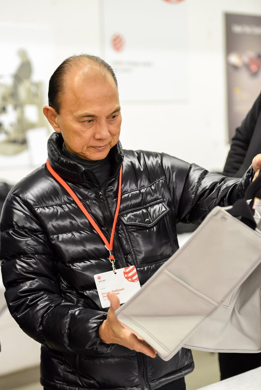 Schuhdesigner Jimmy Choo