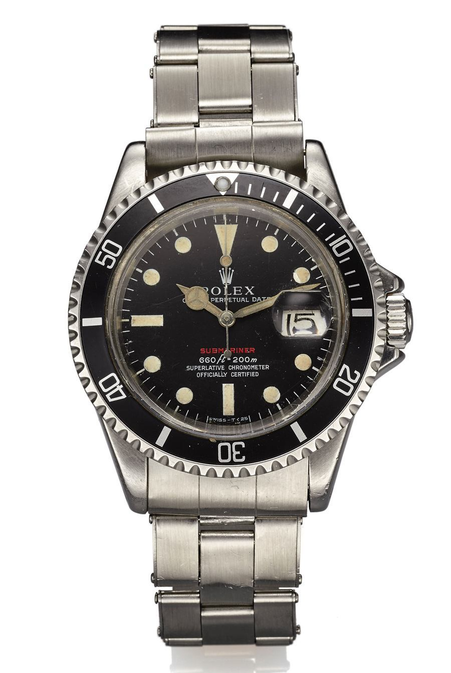 Rolex Red Submariner, versteigert bei Antiquorum in New York im Dezember 2015 für 11.250 US-Dollar