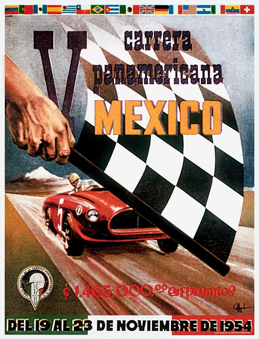 Die Rallye Carrera Panamericana gibt der Uhr ihren Namen