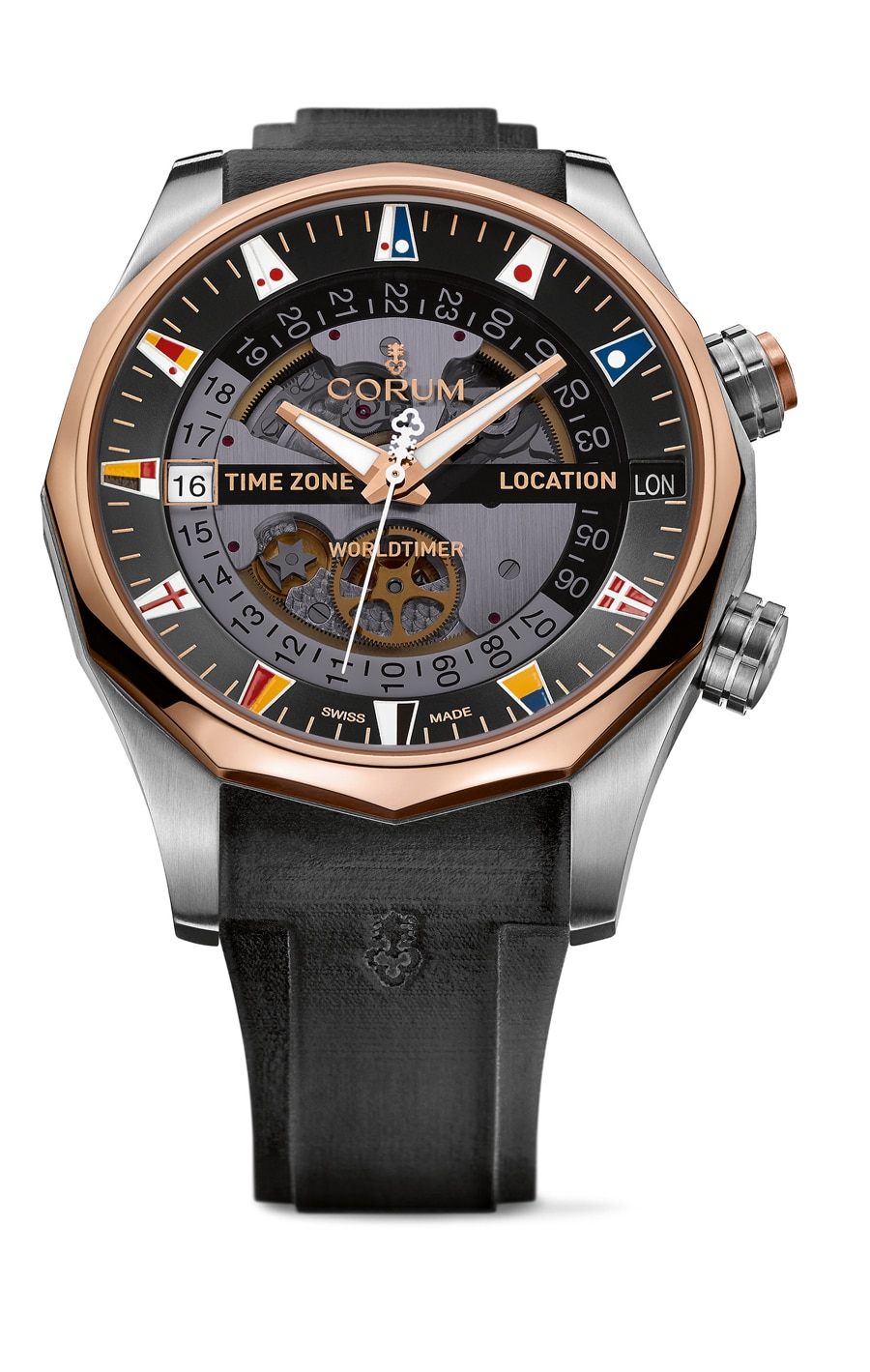 Corum: Admiral's Cup Legend 47 Worldtimer