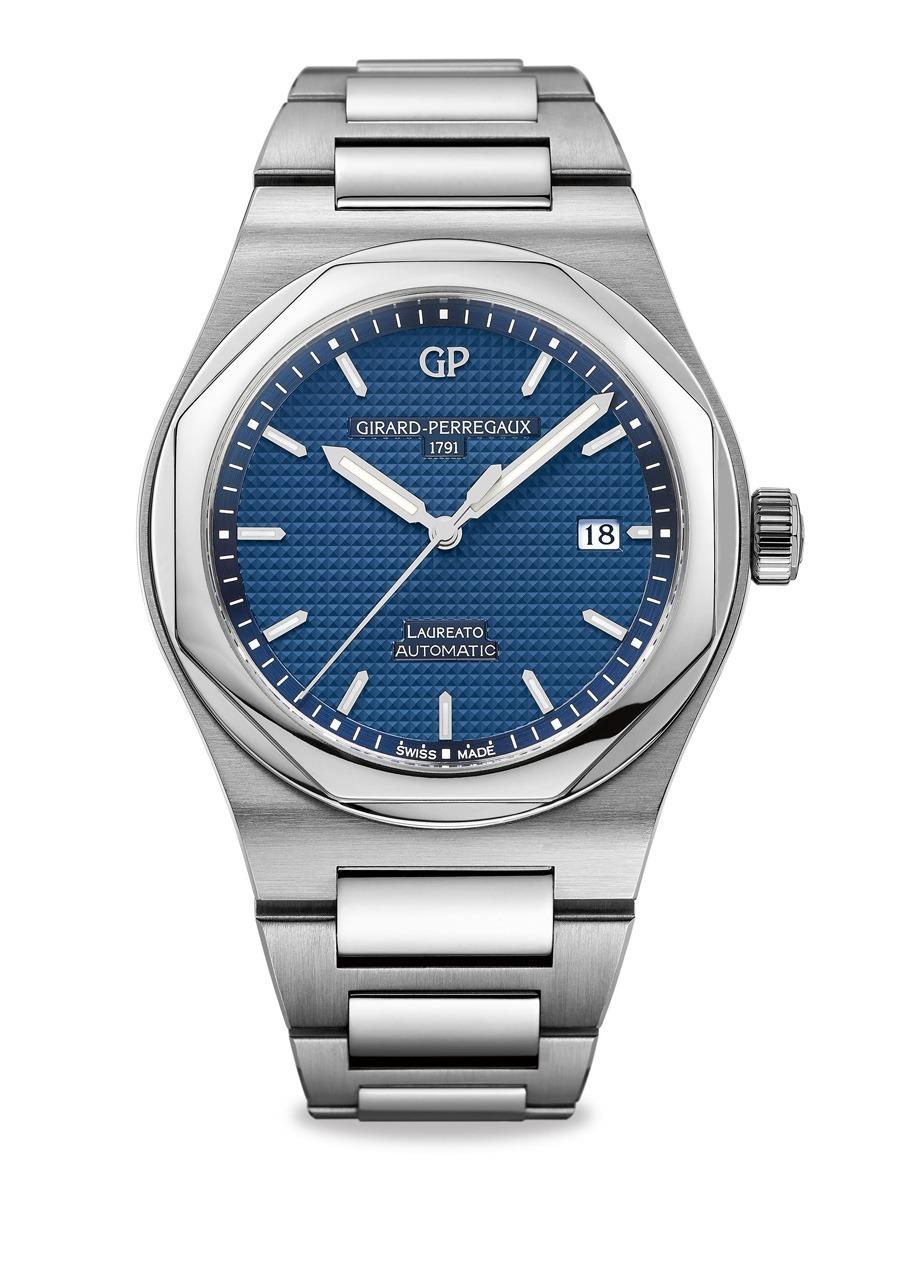 Girard-Perregaux: Laureato in Blau