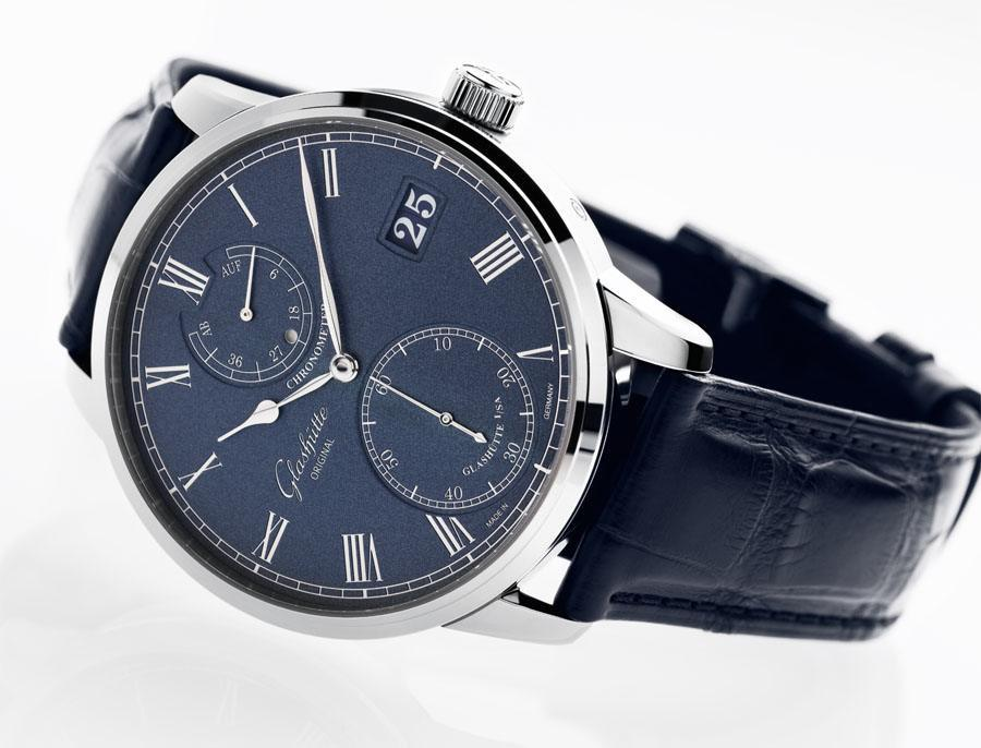 Glashütte Original: Senator Chronometer Blau