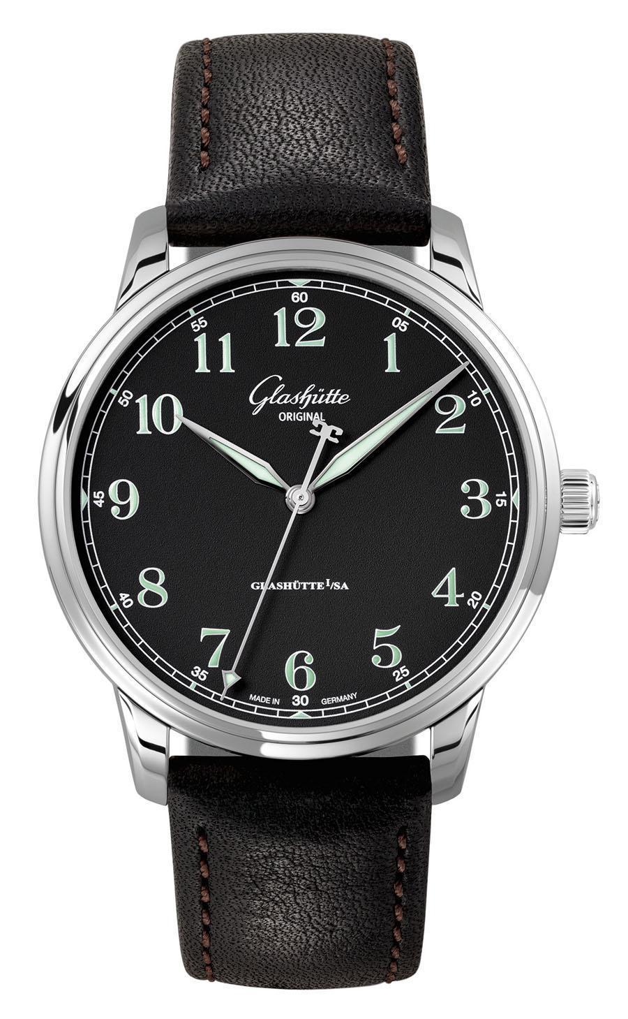 Glashütte Original: Senator Excellence im Stil einer Beobachter-Uhr